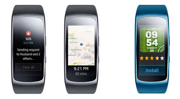 Samsung Gear Fit2 alerta
