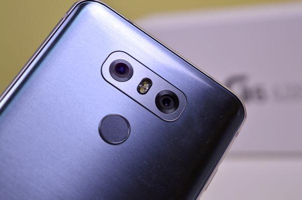 LG G6 dos objetivos