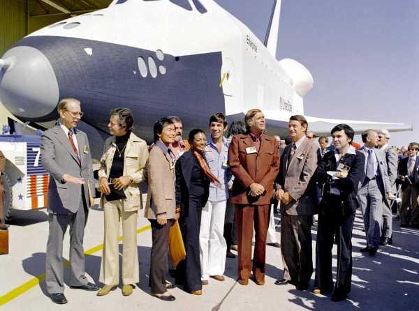 Star Trek 1976 Shuttle Enterprise