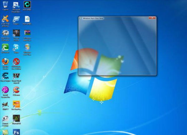 Windows 7 interfaz