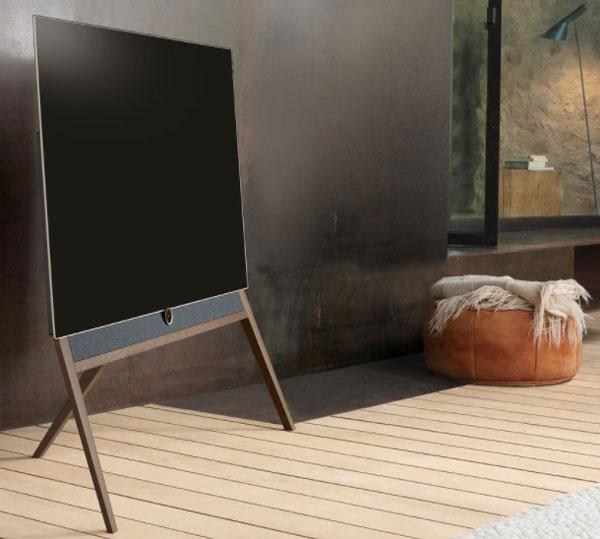 a fondo Loewe Bild 5 soporte madera
