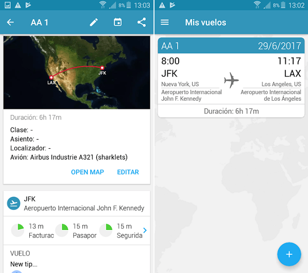 app in the air vuelo