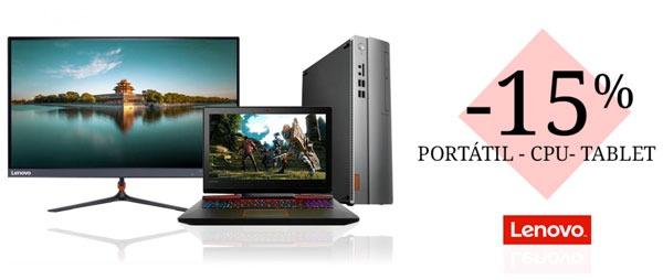 Las mejores ofertas en portátiles y tablets de Lenovo™ en Carrefour