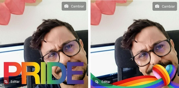 Cómo poner un marco del orgullo gay en Facebook