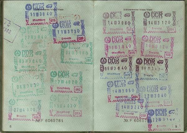 pasaporte viajar al extranjero