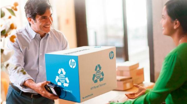 Reciclaje HP