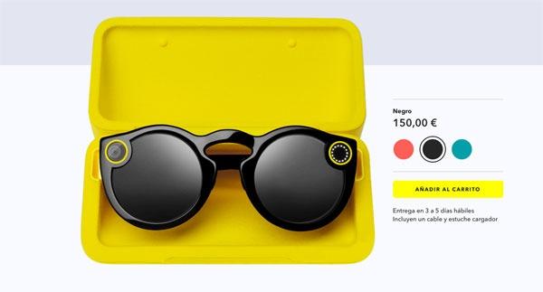 Spectacles por web