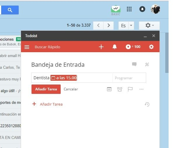 todoist for gmail