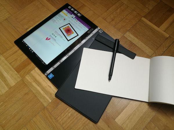 Lenovo Yoga Book diseño