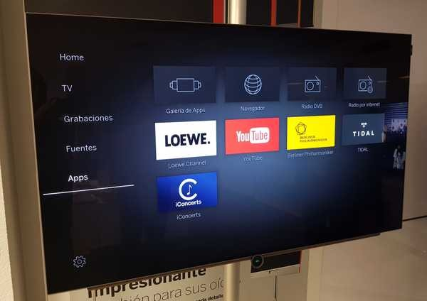 Loewe Bild 4.55, examinamos el televisor OLED único y a buen precio