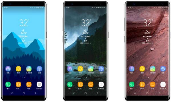 El Samsung Galaxy Note 8 llegaría en cuatro versiones diferentes