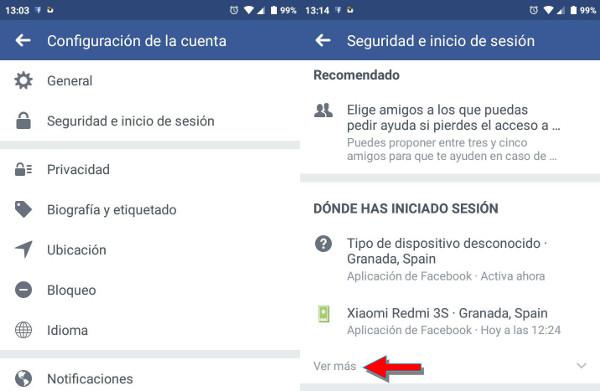 Trucos Facebook cerrar sesion