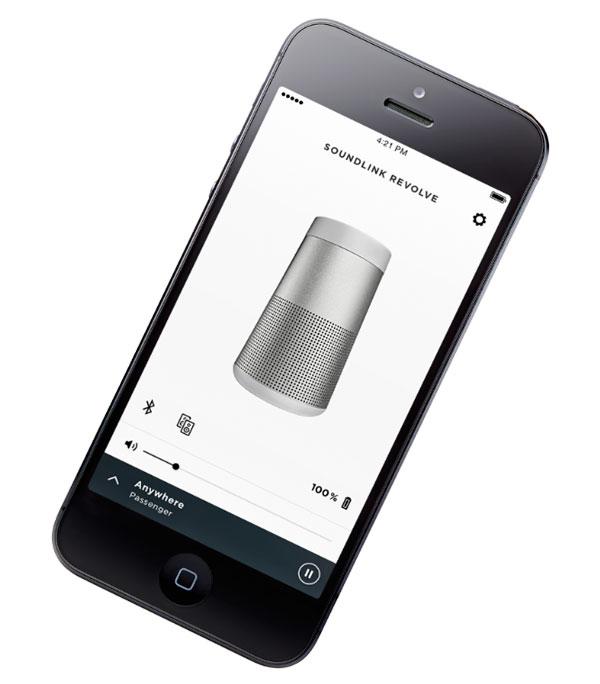 a fondo app Bose Connect altavoces
