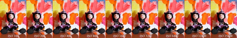 hemos probado Canon EOS 200D comparacion ISOS