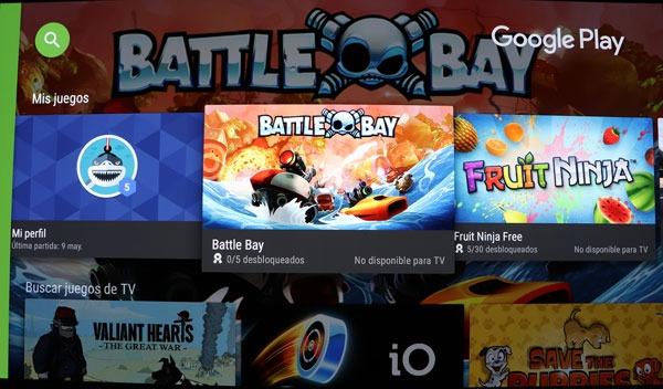 prueba Sony℗ A1 OLED sistema operativo play store juegos