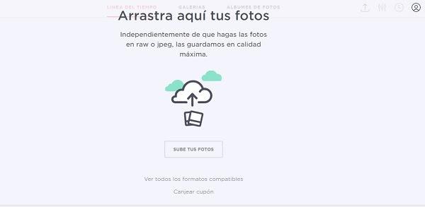 Cómo guardar las fotografías en la nube Irista