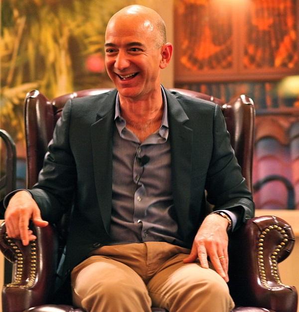El dueño de Amazon, Jeff Bezos, es ahora el hombre más rico del mundo