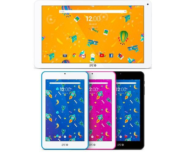 SPC Blink 10.1 y Flow 7, tablets Android por menos de cien euros