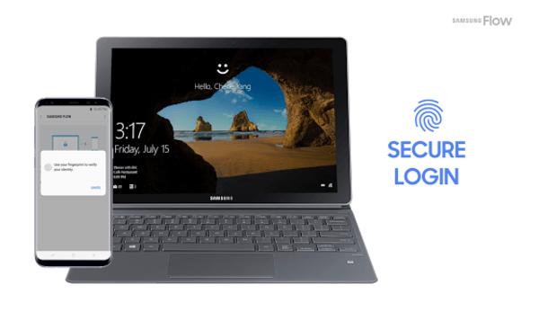 usar un movil Samsung para desbloquear tu PC