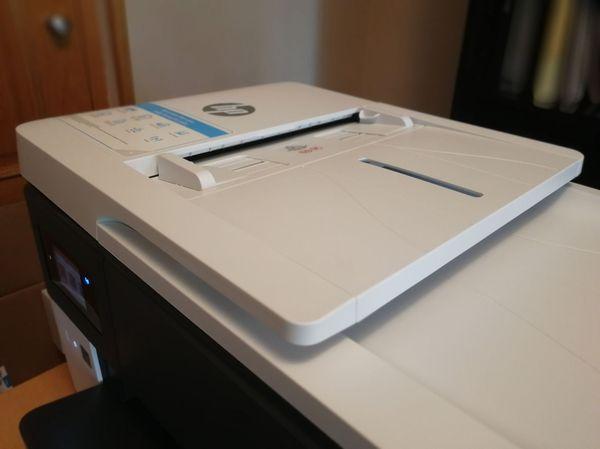 HP OfficeJet Pro 7720 alimentador documentos