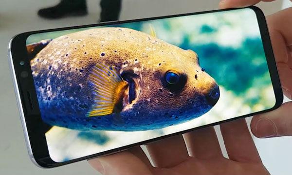 Samsung Galaxy S8 Plus diseño
