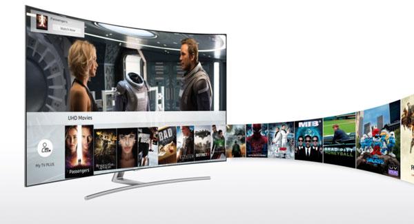 Samsung lanza TV Plus contenido