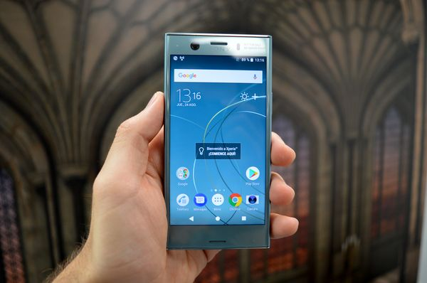 Sony Xperia(móvil) XZ1 Compact delantera