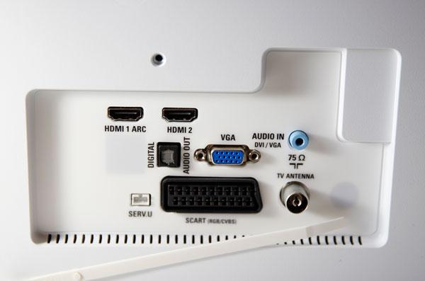 hemos demostrado Philips 24PFT4032 conectores
