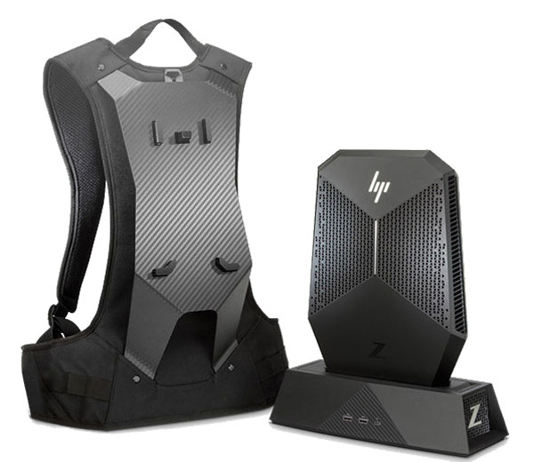 HP Z VR, mochila para realidad virtual con potencia de workstation