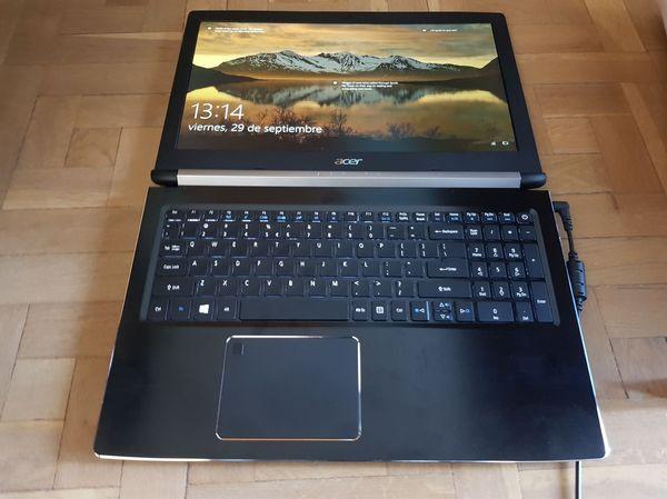 Acer Aspire 7 abierto completo