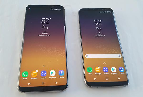 Samsung Galaxy S8 y S8+