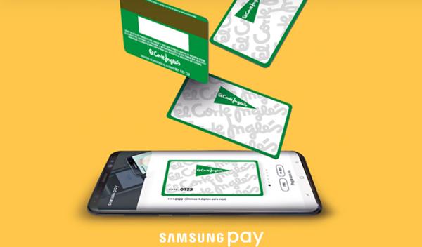 Samsung Pay, cómo registrar y pagar con una tarjeta de El Corte Inglés