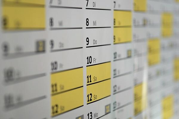 Plantillas y horarios para el cole