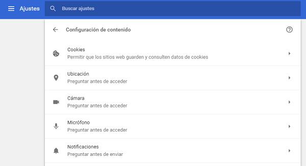 desactivar la ventana en Chrome