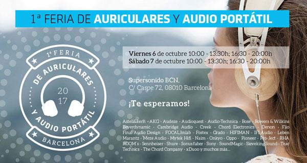 Supersonido festeja la primera feria de auriculares y audio portátil