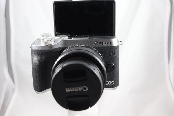 hemos demostrado Canon EOS M6 pantalla vertical