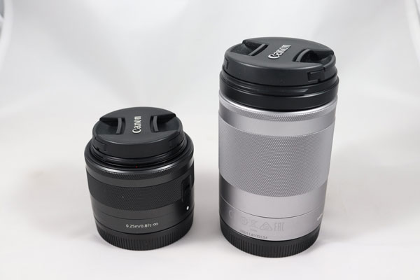 hemos demostrado Canon EOS M6 objetivos