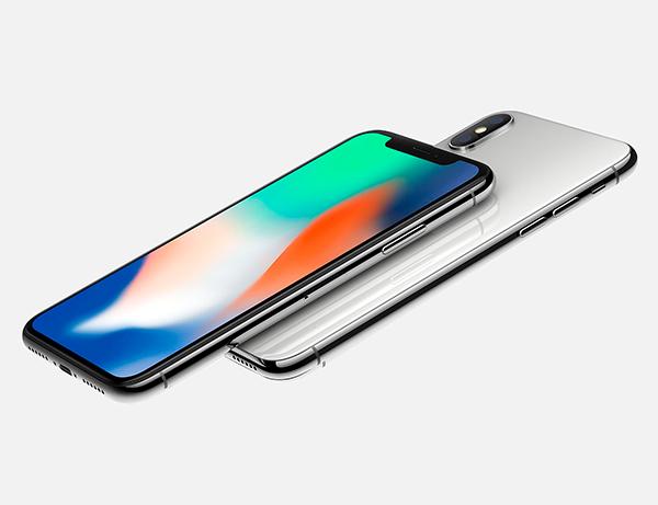 La pantalla OLED del iPhone X no es tan refulgente cual la del Samsung Galaxy S8