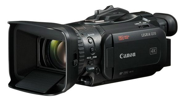 Canon LEGRIA GX10, videocámara polivalente de acciones rápidas
