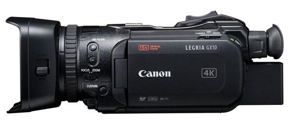 lanzamiento Canon LEGRIA GX10 sensor