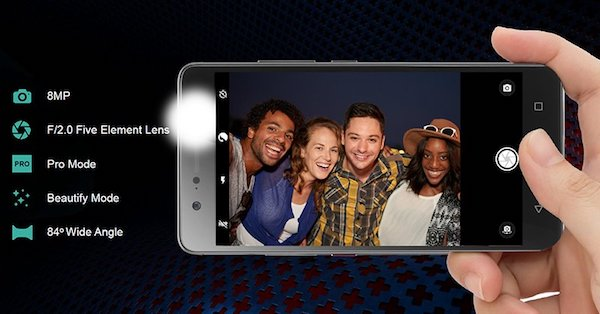 lenovo k8 plus selfies