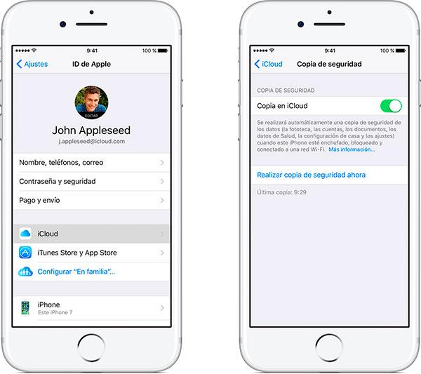 mejores consejos para vender iPhone copia icloud