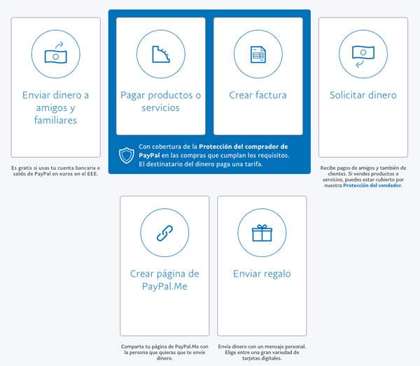 20 preguntas y contestación PayPal mandar dinero