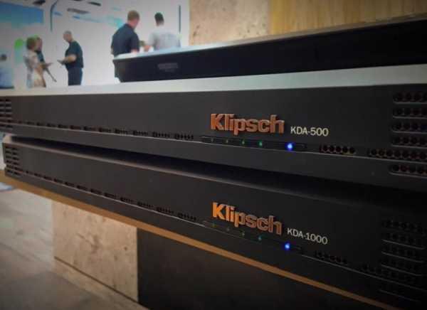 Klipsch KDA-500, versátil amplificador profesional con DSP