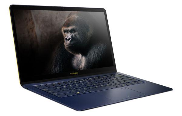 a fondo Asus ZenBook tres Deluxe pantalla