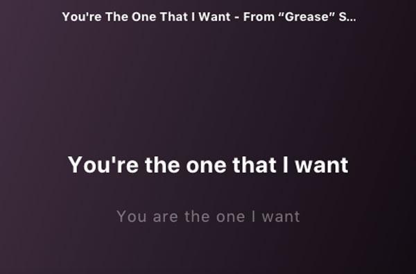 cómo ver letra de canción Spotify letra canción escritorio 2