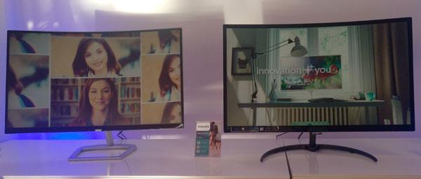Así son los nuevos monitores de Philips℗ y AOC