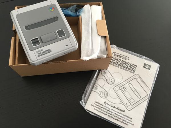 SNes Classic Mini caja