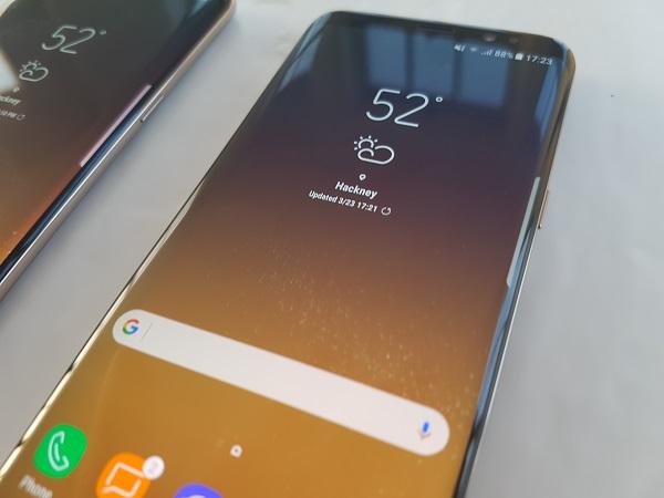 Android ocho Oreo para los Galaxy S8 y S8+