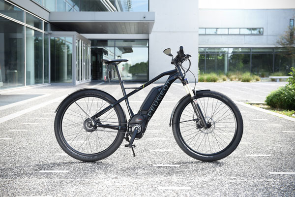 Peugeot Legend, bicis eléctricas con un diseño(layout) retro